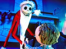 Jack playing Santa.