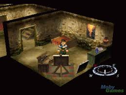 The game begins with our hero Fei in a rather innocent setting.