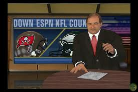 The addition of the ESPN license meant full animated game intros hosted by a virtual Chris Berman.