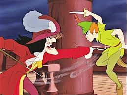 Captain Hook is consumed by his need for vengeance against Peter Pan, who famously chopped off his hand.  I wonder what he was called before that happened?