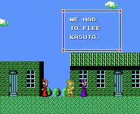 Link can converse with the townsfolk, some of whom will help him out by refilling his life or magic.