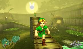 Young Link in the 3DS version.