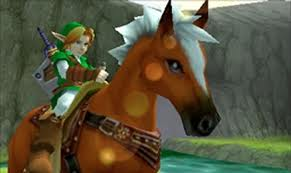 Ocarina of Time marked the debut of Epona, Link's trusty stead.