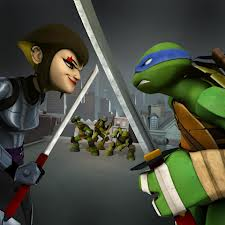 The Karai/Leo subplot was one of the more interesting parts of season one.