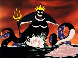 The sea witch, Ursula, proves to be another memorable Disney villain.