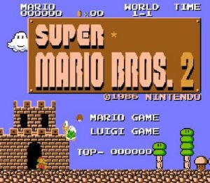 One of the defining characteristics of Super Mario Bros. 2 was the emphasis on making the Luigi experience different from the Mario one.
