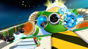 Even though the more powerful Wii U console boasts a Mario title of its own, Galaxy 2 remains the best looking Mario game to date.