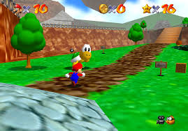 Running through the early stages of Super Mario 64 was a kind of joy I can't begin to describe.