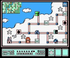 The map layout common to many Mario games originated with Super Mario Bros. 3.