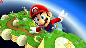 Mario gets shot out of canons (pipes) quite frequently in this one.