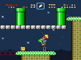 Secrets abound in Super Mario World.