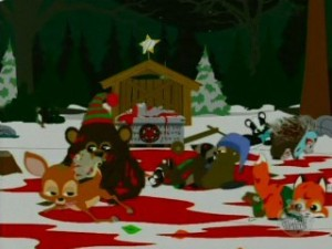 """It's Critter Christmas, dude, it sucks ass!"""