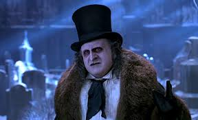 DeVito's Penguin is mostly monstrous but he's able strike a sympathetic tone at times.