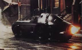 The Batmobile's ability to down-size into the Bat Missile was one of the big spectacles of Batman Returns.