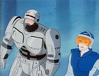 The film's R rating didn't prevent RoboCop from making the leap to Saturday morning in 1988.