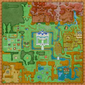 Veterans of A Link to the Past should feel right at home here.