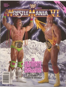 WrestleMania VI was hyped as The Ultimate Challenge by the WWF.