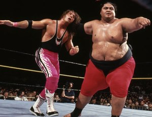Yokozuna was a very big man.