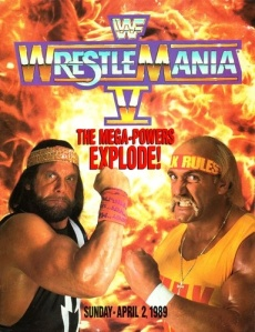 The year long feud between Macho Man and Hulk Hogan came to a head at WrestleMania V.