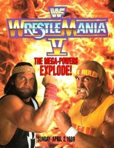 The year long feud between Macho Man and Hulk Hogan came to a head at WrestleMania V.