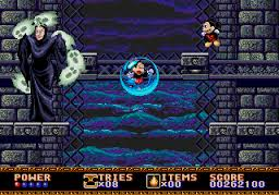The original game was okay looking at the time, but its grainy visuals and squished Mickey haven't aged well.