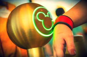 Making its debut in 2013, Disney World's Magic Band is the new fast pass.