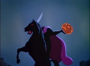 The Headless Horseman is the true star of the second act.