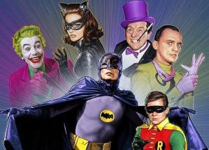Look out, caped crusaders! The Joker, Catwoman, Penguin, and Riddler have joined forces!