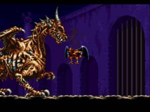 Some of the game's bosses dominate the screen.