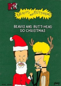 Beavis and Butt-head embrace the holiday spirit. Kind of.