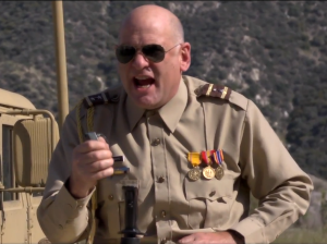 General Dark Onward is probably the most ambitious character in the film.