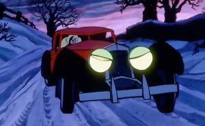 Evil women drive evil cars.