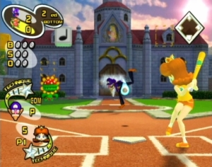 Characters from the Mario franchise play ball in some familiar locales.