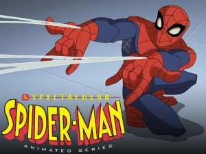 Spider-Man has made numerous appearances on television, but the oddest looking is probably the best.