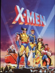 SF.Graz.1.0317––HANDOUT ART OF THE X–MEN CARTOON SERIES.