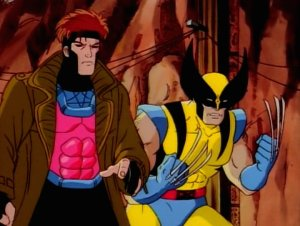 Wolverine and Gambit were likely to two most popular characters on the show, but that didn't stop the writers from developing many others.