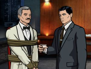 There are many recurring jokes on the show, including Archer's obsession with Burt Reynolds and a certain song by Kenny Loggins.