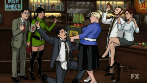 Archer's co-workers aren't really any better.