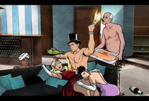 Sterling Archer is a secret agent devoid of any sense of professionalism or responsibility.