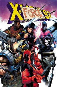 """Issue #3 is my pick for best cover. Note Deadpool's 90's era """"selfie stick."""""""