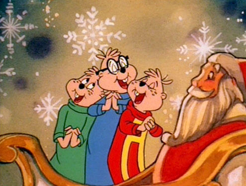 3 a chipmunk christmas the nostalgia spot - Alvin And The Chipmunks Christmas Songs
