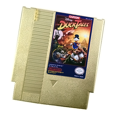 DuckTales CapCom Gold