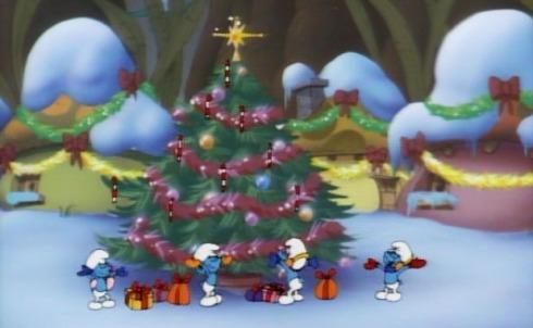 smurfs-tis-the-season-to-be-smurfy-christmas-tree