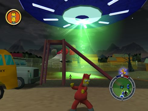 207885-the-simpsons-hit-run-windows-screenshot-evil-homer-and-a-ufo