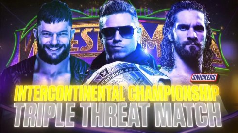 The-Miz-vs.-Seth-Rollins-vs.-Finn-Balor-WrestleMania-34-Intercontinental-Championship-Match