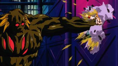 Broly punch