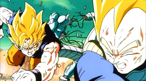 Goku_e_Vegeta_distruggono_Metal-Cooler