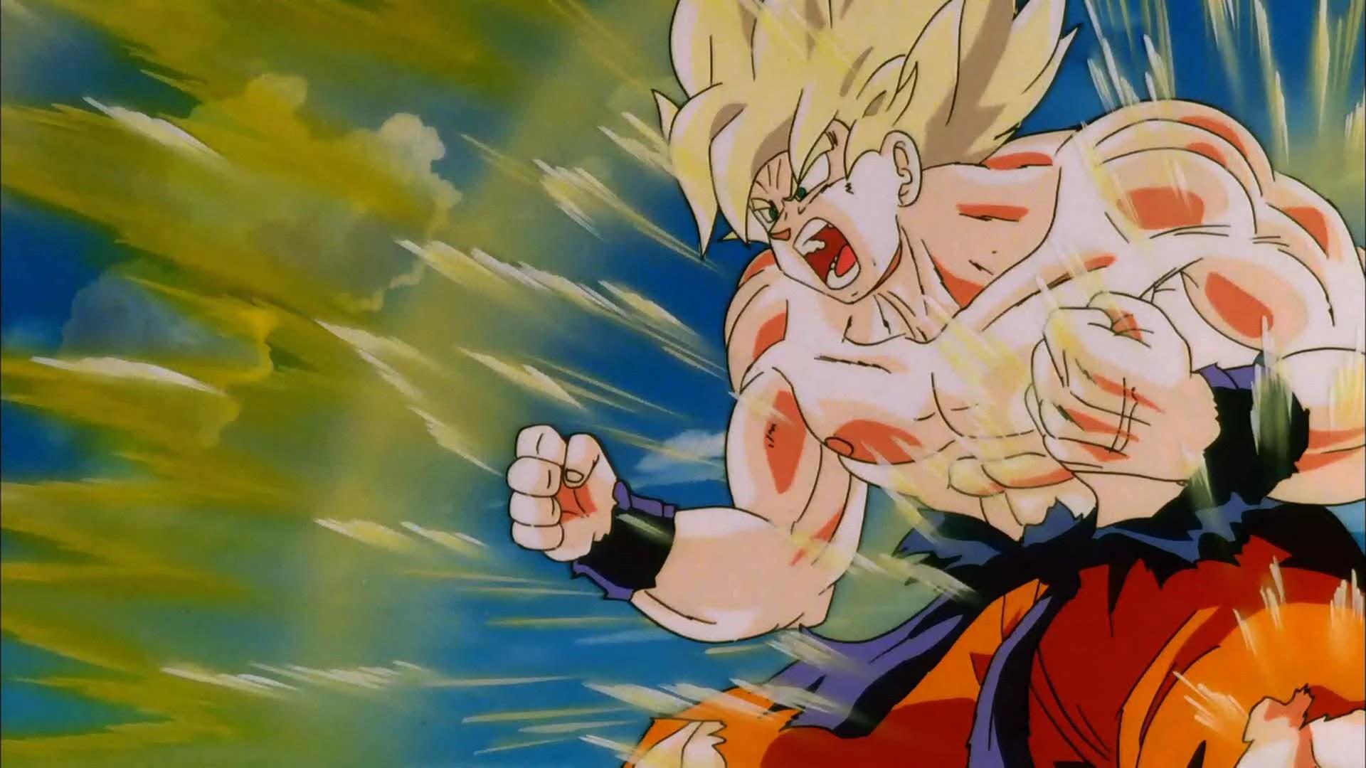 Goku_SS_Powering_Up_(Cooler's_Revenge)