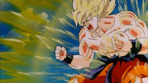 Goku_SS_Powering_Up_(Cooler's_Revenge)