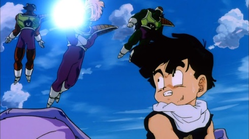 Gohan attacked
